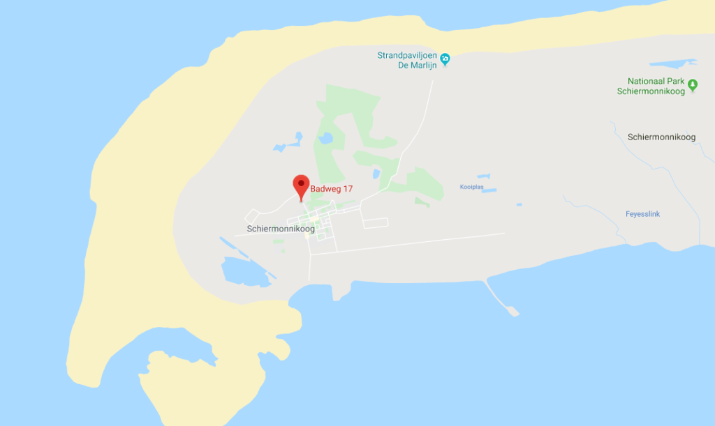Kaart Hotel Duinzicht