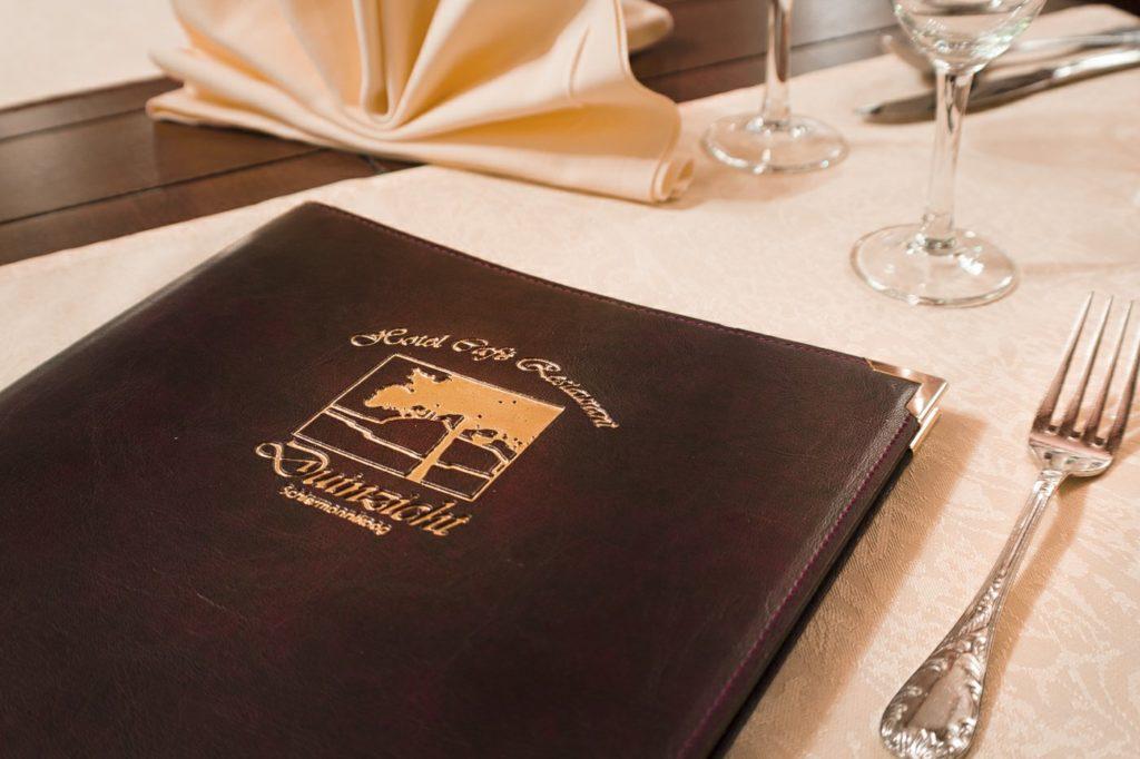 Menukaart2 Restaurant Duinzicht